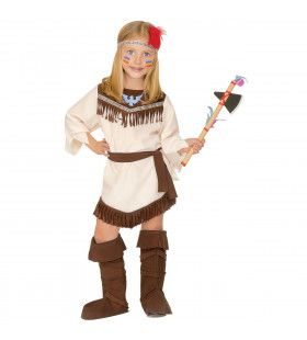 Misizaagiwininiwag Indiaan Amerika Meisje Kostuum