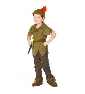 Nooitgedacht Toch Gekregen Peter Pan Kind Kostuum