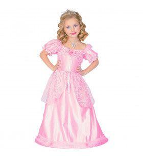 Roze Monaco Prinses Gracia Meisje Kostuum