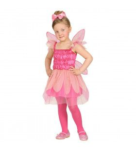 Roze Pixie Huiself Rosie Meisje Kostuum