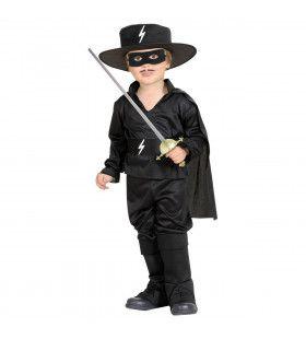 Mexicaanse Held Zorro Kind Kostuum