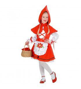 Beroemd Sprookje Roodkapje Meisje Kostuum