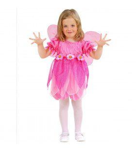 Vliegende Hibiscus Bloemen Fee Meisje Kostuum