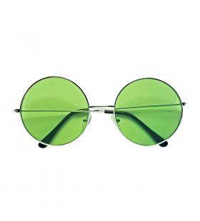 Lekker Grote Jaren 70 Bril Groen