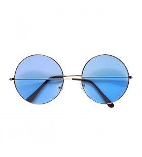 Lekker Grote Jaren 70 Bril Blauw
