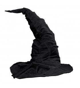 Hoed Tovenaar Catweazle Zwart