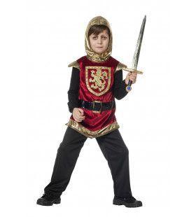 Ridder Gouden Leeuw Jongen Kostuum