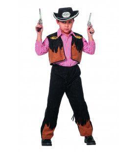 Cowboy Nick Mist Nooit Jongen Kostuum