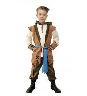 Sherwood Hero Kerker Jongen Kostuum