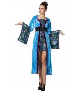 Funky Miss Shanghai Vrouw Kostuum