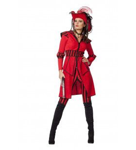 Lady Pirate Of The Seas Vrouw Kostuum
