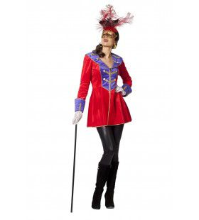 Venice Showgirl Rood Vrouw