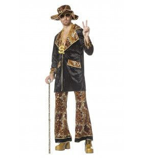 Alex Pimp King Man Kostuum