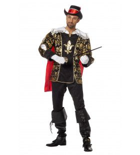 Musketier Porthos Man Kostuum