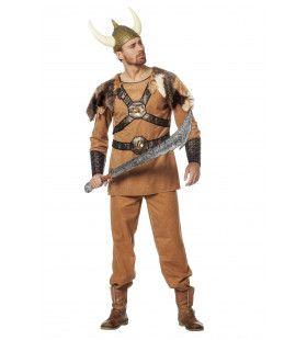 Venijnig Vinnige Viking Man Kostuum