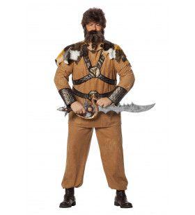 Venijnig Vinnige Viking Man Plus Size Kostuum