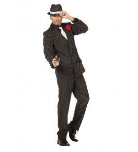 Scorsese Gangster Man Kostuum