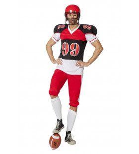 American Football End Zone Man Kostuum