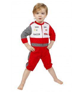 Baby Racer Formule Onesie Jongen Kostuum