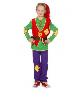 Vlijtige Kabouter Lange Muts Jongen Kostuum