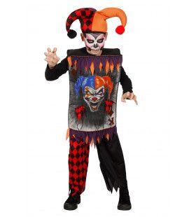 Scary Joker Jongen Kostuum