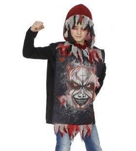 Hoody Scary Devil Jongen Kostuum