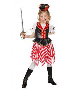 Alle Hens Aan Dek Piraten Meisje Kostuum