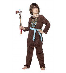 Indiaan Potawatomi Luxe Jongen Kostuum
