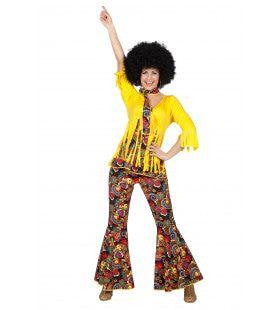Hippie Easy Rider Vrouw Kostuum