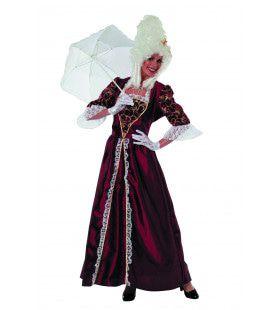 Markiezin Merveilleux Taft Vrouw Kostuum