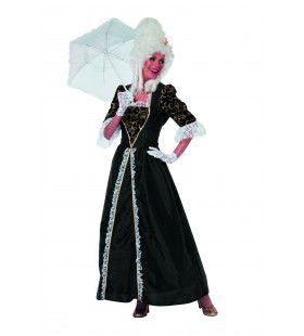 Markiezin Magistral Taft Vrouw Kostuum