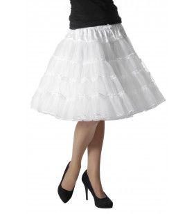 Petticoat Swing Luxe Wit