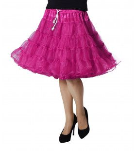 Petticoat Swing Luxe Roze