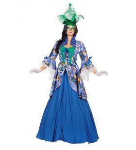 Markiezin Vicenza Vrouw Kostuum