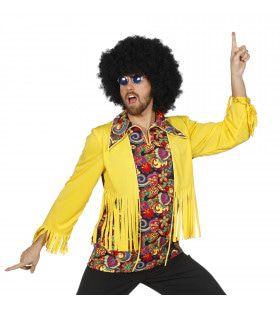 Knalgele Hippie Top Man