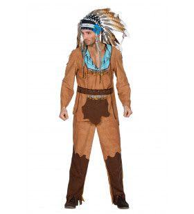 Indiaan Arapaho Man Kostuum