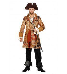 Op Jacht Naar De Schat Piraat Jas Luxe Man Kostuum