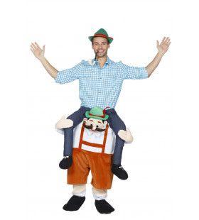 Man Op Tiroler Kostuum