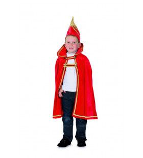 Prins Carnaval Boemeldonk Rood Jongen Kostuum