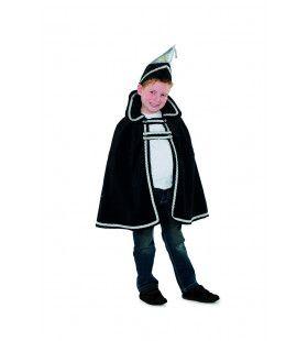 Prins Carnaval Kaaiendonk Zwart Jongen Kostuum
