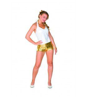 Hotpants Van Goud Honnie