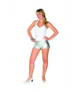 Zilveren Hotpants Paula Plata
