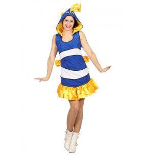 Tropische Vis Cocoseiland Vrouw Kostuum