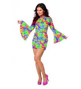 Vrolijk Joplin Hippie Vrouw Kostuum