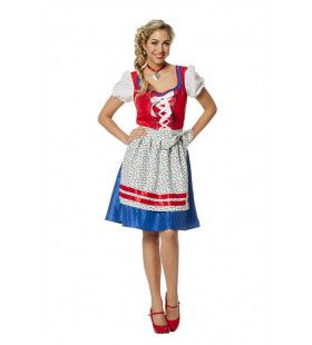 Petra Pul Beierse Dirndl Vrouw Kostuum