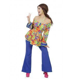 Ladies Night Hippie Jaren 60 Vrouw Kostuum