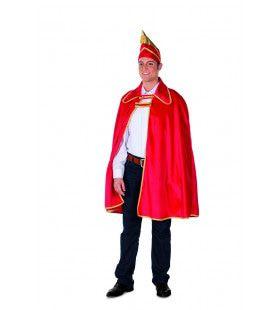 Cape Prins Carnaval Fluweel Rood Man