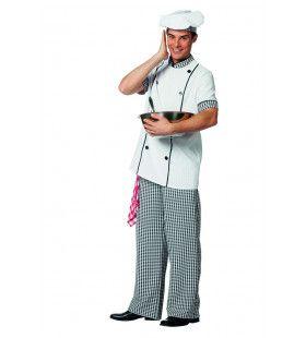 Perfecte Smaak Kok Exclusief Restaurant Man Kostuum