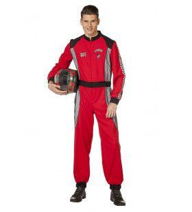 Formule 1 Race Overall Ayrton Man Kostuum