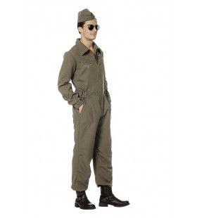 Onderhoudsmonteur Straaljager F16 Man Kostuum